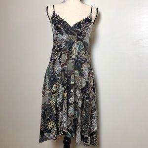 ANTHROPOLOGIE Pinkerton Paisley Dress in Medium
